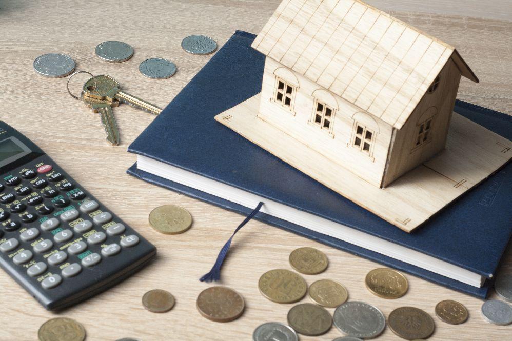 Geld und Hausmodell