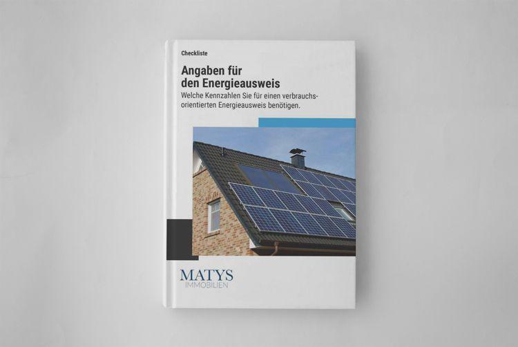 Ratgeber Cover Angaben für den Energieausweis