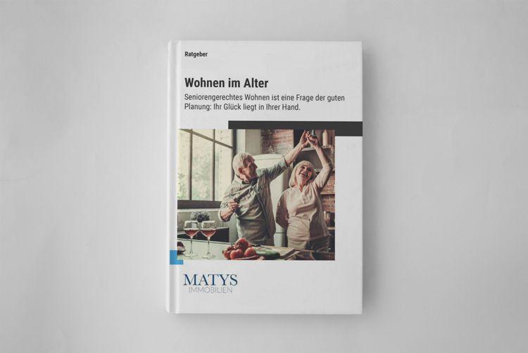 Ratgeber Cover Wohnen im Alter
